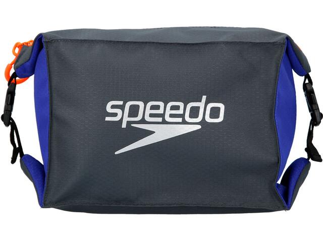 speedo Pool Side Mochila/Bolsa Set, Largo, oxid grey/ultramarine